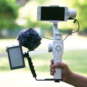 Image 3 - Dji osmo mobile 3 2 비디오 설정 마이크 l 브래킷 led 비디오 라이트, 마이크 스탠드 osmo mobile 3 smooth 4 vimble 2 gimbal