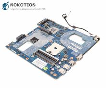 Nokotion per Samsung NP355 NP355C4C NP355V5C Scheda Madre Del Computer Portatile QMLE4 LA-8863P BA59-03567A DDR3 HD7600M Chip Video(China)