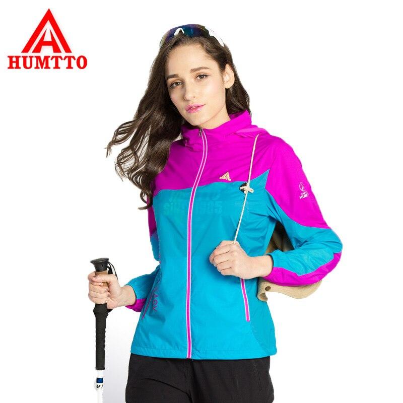 Humtto Для женщин легкая тонкая быстросохнущая куртка Защита от солнца-защитная пленка носить дышащий с капюшоном Открытый Отдых поход длинны...