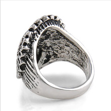 Men's Red Indian Steampunk Ring