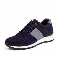 Max Sosa Rahat Nefes Ayakkabı Erkekler için Spor koşu erkekler Için Lüks marka koşu Ayakkabı Ile ayakkabı Geniş ayakkabı indirim