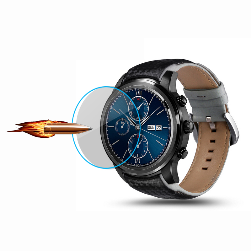 3 PCS FOR LEM5 X5 X5 PLUS Q3 AIR empered Glass Ultra-thin 2.5D 9H Clear Smart Watch Film Screen Protector