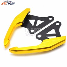 CNC Aluminum  Motorcycle Rear Grab Bars Motorbike after the mailbox handrails For Honda Grom 125 MSX125 MSX 125 M3  2014 2015