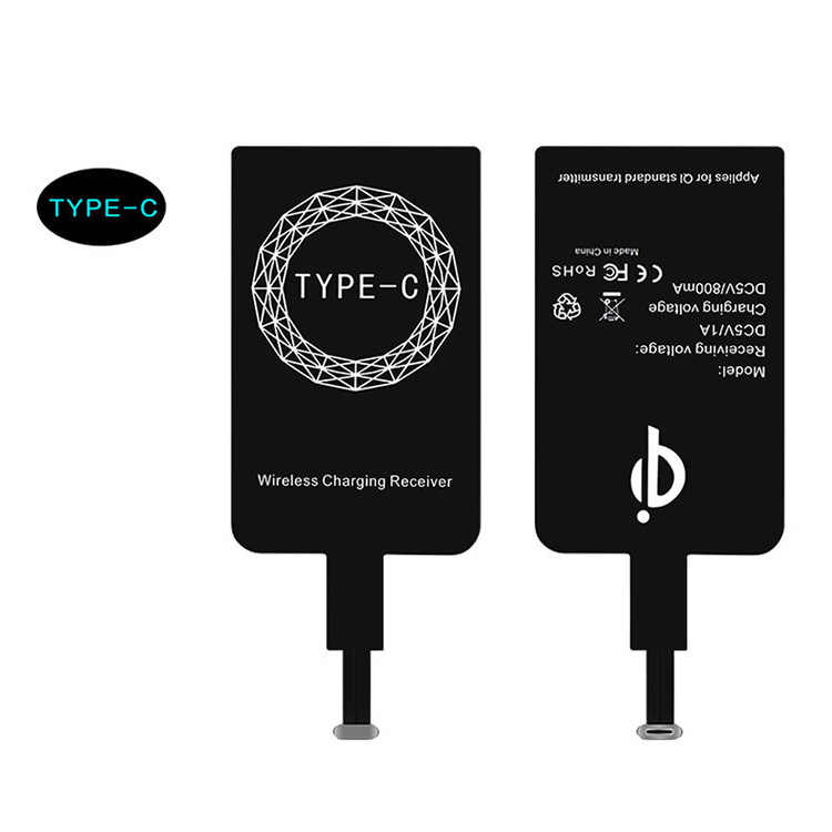 Mzxtby Universal  For MicroUSB Phones For Iphone 6 5 5s Qi Wireless Charging Receiver Micro USB Wireless Charger Receiving Patch