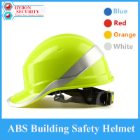 Deltaplus V Venitex Construction Work Safety Helmet Anti Smash ABS Insulating Hard Hat With Phosphor Stripes
