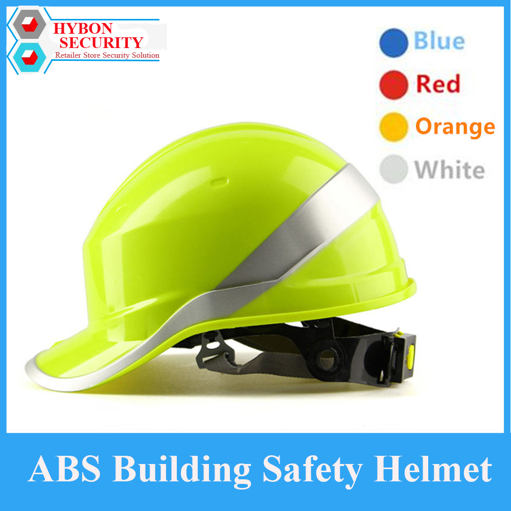 HYBON Construction Safety Helmet Safety Helmet ABS Material Caps Building Hard Hat Cap Work Helmet Gorros De Trabajo Militar classic solar energy safety helmet hard ventilate hat cap cooling cool fan delightful cheap and new hot selling