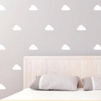 ZN P49 DIY Wall stickers Home decor for kids room Pattern Butterfly (Set of 24) Wall Sticker Nursery Kids Home