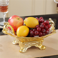 fruit bowl The sitting room tea table decoration luxurious big bowls candy dishes furnishing articles A wedding gift