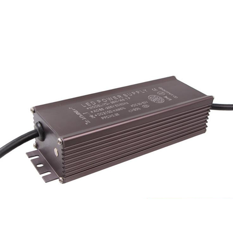 LED constant current drive power supply 98W built in No flicker Water proof LED street lamp driver
