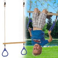 Children Playground Flying Gym Rings Swing Flying Pull Up Ring Sports Outdoor Indoor Gym Swing Games