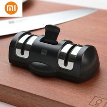 NEW Xiaomi Huohou 2 Stages Professional Kitchen Sharpening Stone Grinder knives Quick Sharpener Tool(China)