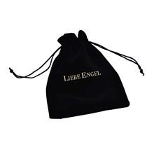 LIEBE ENGEL Fashion czarna aksamitna biżuteria torby torby na prezenty dla każdego rodzaju biżuterii kolczyki bransoletki naszyjnik wykwintne dekoracje tanie tanio Tkaniny LL0001 13cm 16cm Gift bag for any kind of jewelry Woreczki Opakowanie i wyświetlacz biżuterii Black 13*16cm 1pc Bag
