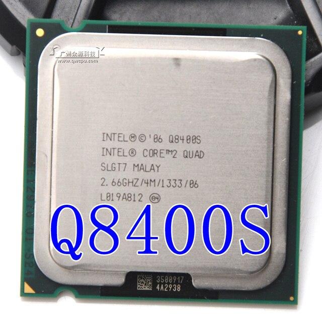 Inteligencia Core 2 Quad Q8400S 2,66g/4 m/65 W/Quad Core LGA 775 (trabajo 100% envío gratuito)