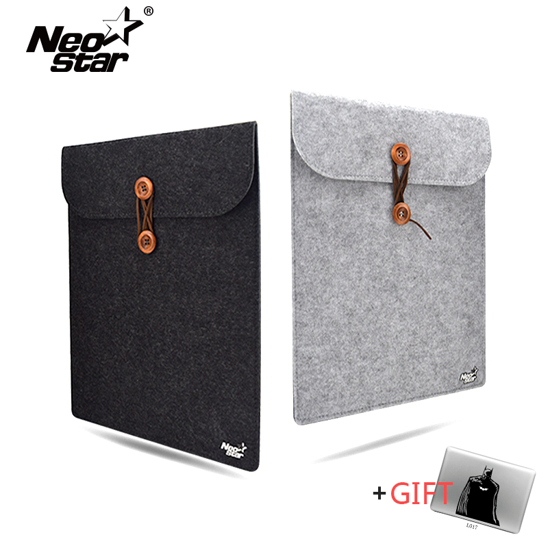 Wool Felt Laptop Sleeve Bag For Macbook Air Pro Retina 11 13 15 Notebook Case Pouch For Mac Computer Cover Handbag kalidi laptop sleeve bag waterproof notebook case for macbook air 11 13 pro 13 15 retina ipan mini 1 2 3 surface pro 12