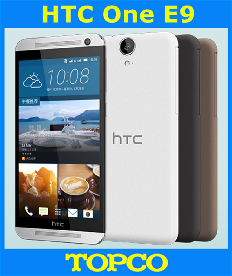 "bilder für Htc one e9 original unlocked gsm 3g & 4g android octa-core ram 2 gb handy 5,5 ""wifi gps 13mp 16 gb dropshipping"