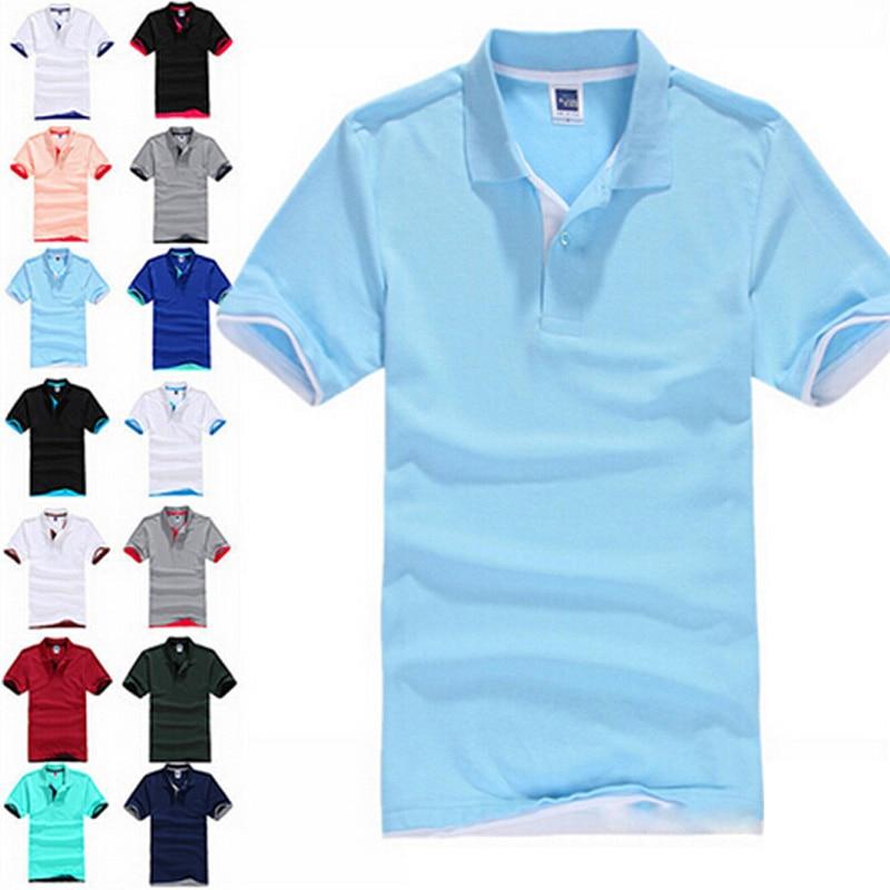 d8f869462cdd Aliexpress.com : Buy New 2019 Men's Brand Polo Shirt For Men Designer Polos  Men Cotton Short Sleeve shirt Brands jerseys golftennis Free Shipping from  ...
