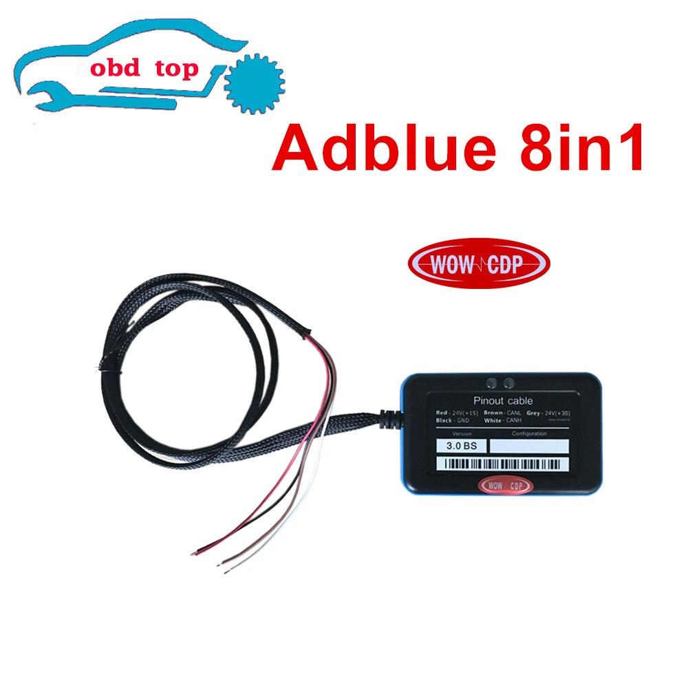 Prix pour Adblue émulateur V3.0 pour camions avec capteur NOx émulation Adblue Émulateur 8 en 1 Adblue 8in1 Pour 8 Type Camions Soutien euro 6