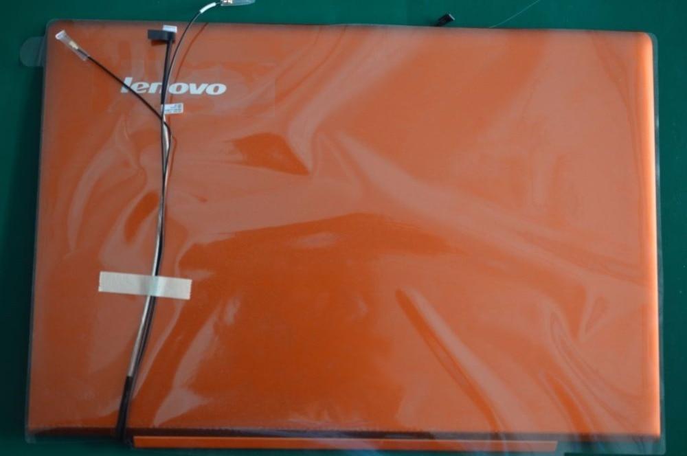 New Original for Lenovo IdeaPad U330P U330 NO Touch LCD Rear Lid Back Cover orange LZ5 90203125 3CLZ5LCLV70 new original for lenovo ideapad s206 lcd back cover rear lid grey black 13n0 zsa0c11 90200256