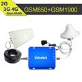 GSM 850mhz PCS 1900mhz Dual Band Cell Phone Signal Booster CDMA 850 PCS 1900 Moble Repeater Amplifier For USA Canada Mexico