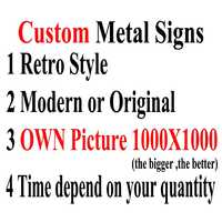 [Kelly66] signos de Metal personalizados para perro gato decoración para bar home pub 20x30 CM