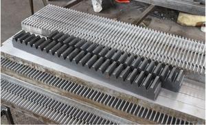 Image 2 - 10pcs จัดส่งฟรี 1Mod 15x15x1000 มม.1 M Spur Gear Rack stright ฟันเกียร์ Rack precision CNC Rack ตรงฟันฟัน Rack