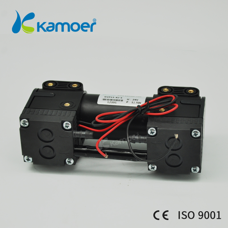Kamoer 12V/24V KVP15mini diaphragm vacuum pump micro air pump brushless motor with double head kameor kvp8 12v vacuum pump with brushless motor 24v