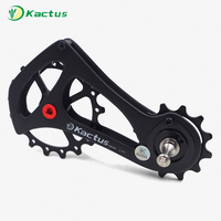 Ceramic Bearing 11 Speed Carbon Fiber Bicycle Rear Derailleur Bike Oversized Pulley Wheel Jockey Sram Rival