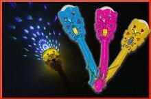 Niedrigster Preis 2017 NEUE Kinder Spielzeug Großhandel 3D Projektion Flash LED Licht Ausstrahlen Wand Mantianxing Windmühle