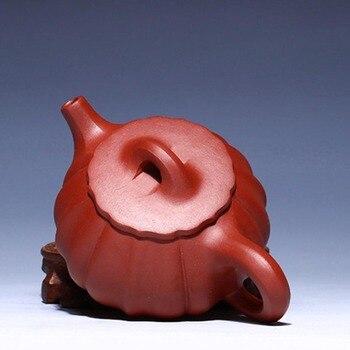 200ML Famous Artists Manual Teapot Jin Wen Stone Scoop Kung Fu Tea Pot Home Drinkware Purple Clay Ceramic Kettle  Creative Gifts