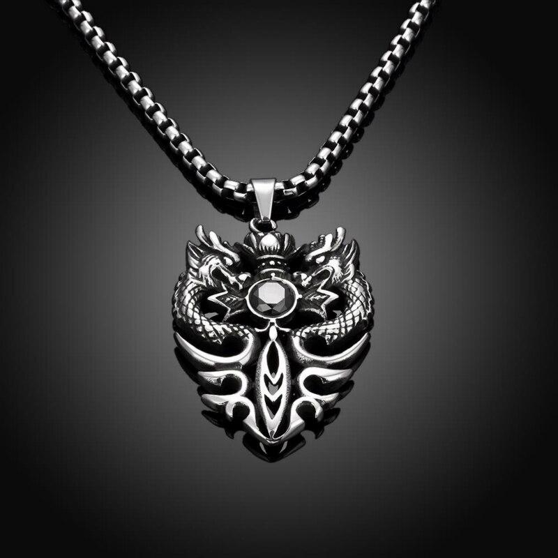 collier femme dragon