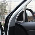 Для Kia Rio Интерьер Погонаж дверь динамик автомобиля укладки K2 высокое стерео крышка украшение автомобиля аксессуары часть 2017