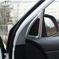 Para Kia Rio puerta altavoz car-styling Molduras Interiores productos K2 alta estéreo cubierta del coche accesorios de decoración parte 2017