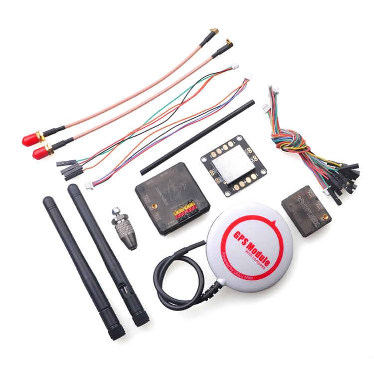 OpenPilot CC3D Revolution Flight Controller Combo with M8N GPS OPlink Transceiver CC3D Power Distributors Plate Board цена