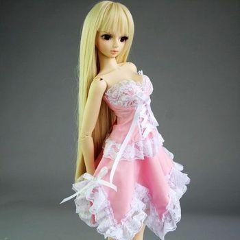 [ Wamami ] 105 # розовое платье 1/3 SD DZ снмп AOD бжд Dollfie