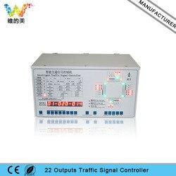 Controlador de señal de tráfico sin Internet 22 salidas