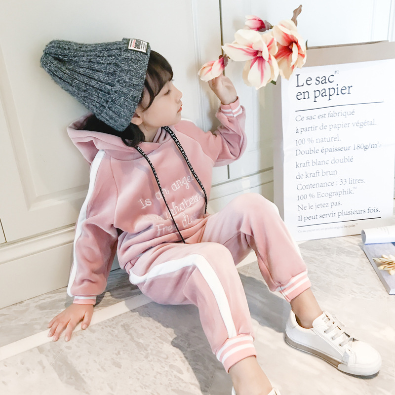 winter autumn new fashion baby girls hoodies sport suit Children clothing set toddler casual kids tracksuit set самокат explore solo ecoline white