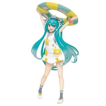"Originele Taito Zomer Kleding 7 ""Hatsune Miku Action Figure Pvc Model Figurals"