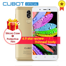 Cubot R9 Quad Core MT6580 Android 7.0 Fingerabdruck 2 GB RAM 16 GB ROM Smartphone 5,0 Zoll 1280×720 HD Bildschirm 13.0MP Kamera Celular