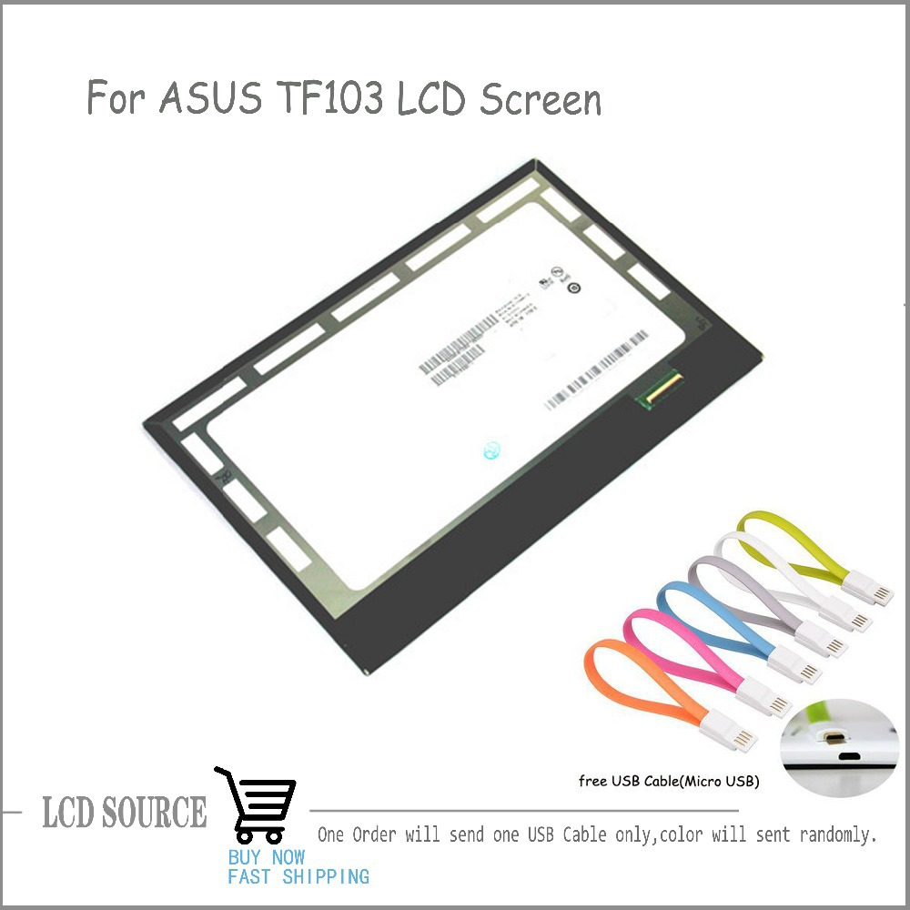 B101EAN01.6 LCD Screen For ASUS Transformer Pad TF103 TF103CG ME103 K010 ME103C ME103K LCD Display Tablet PC Replacement
