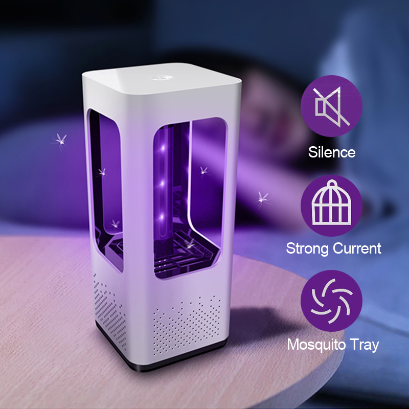 Led Mosquito Killer Lamp Anti Mosquito Trap Lamp Mata Bug Zapper USB Pest Electric Insect Repellent Repeller Light Muggen Killer