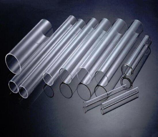 Quartz furance tube / OD*L=46*450mm / high-temperature / high purity clear quartz tubeQuartz furance tube / OD*L=46*450mm / high-temperature / high purity clear quartz tube