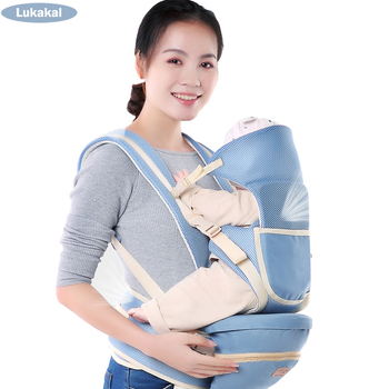 Ergonomic Baby Carrier BackPack Multifunctional Cotton Baby Sling Breathable Hooded Kangaroo For 1 To 48M Infant Baby BackPack Backpacks & Carriers