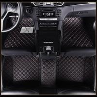 Custom Car Floor Mats For BMW 2 Series M240i 228i 235i 218i 218i 218d 220d 2014 Travel version Car Styling Accessories Carpets