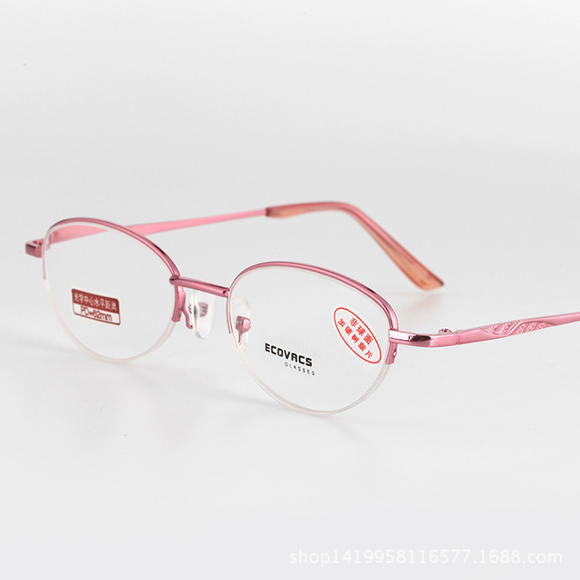 a31c12f08a7 Half Frame Alloy Spectacle Frame Ma am Fund Fashion Presbyopic Glasses  Resist Fatigue Match Presbyopic
