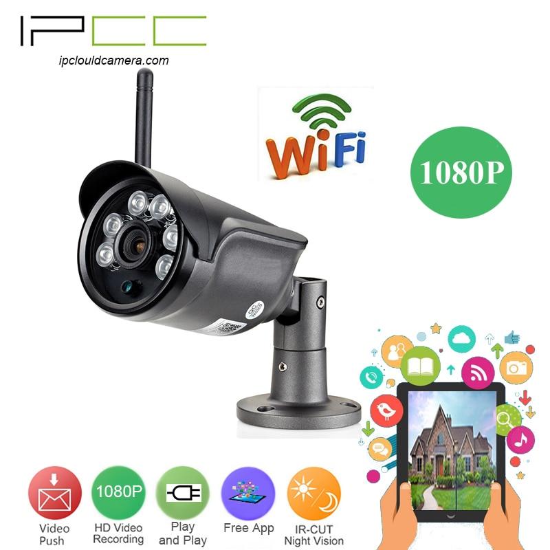 IPCC Wireless 1080P WIFI Outdoor Waterproof Bullet Camera
