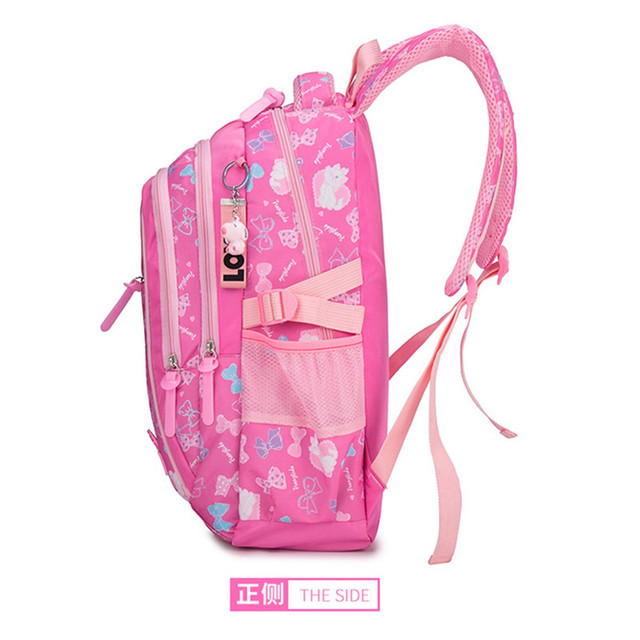 AEQUEEN 3PCS Printing School Bags For Teenager Girls Orthopedic Rucksack Cute Kids Backpack Mochila Travel Bag Pencil Case