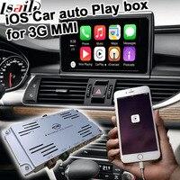 Авто играть коробка для Audi A4 A5 A6 A7 A8 Q5 Q7 2010 2016 3g MMI д. для carplay audi