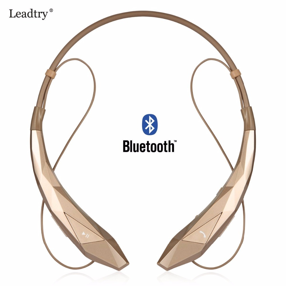 Sports Bluetooth Headset Headphones Wireless Stereo Flex Neck Strap Bass Sound Music Earphones for iPhone 5 5s 6 6s Samsung