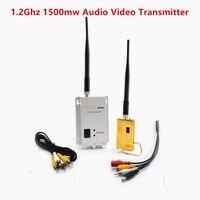 FPV 1.2 Ghz 1.2G 8CH 1500 mw Kablosuz AV Sender TV Ses Video Verici Alıcı QAV250 250 FPV Için Quadcopter