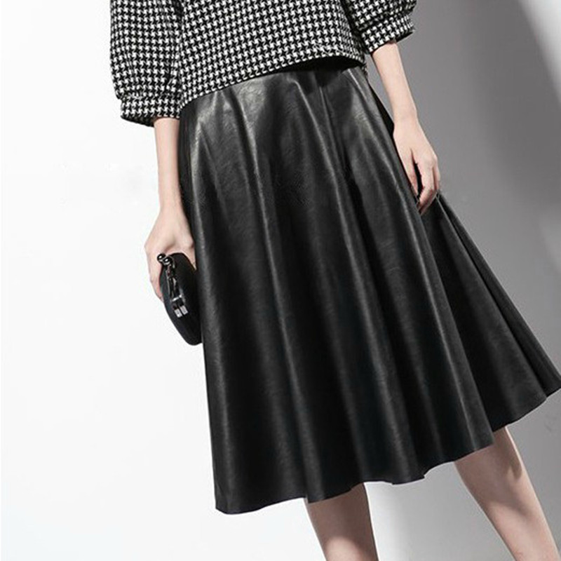 get cheap leather maxi skirt aliexpress